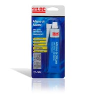 Adesivo de Silicone Silic - Multi-Uso Transparente Cura Acética - 50g