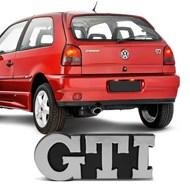 Adesivo Emblema Letreiro do Porta Malas Gol Bola GTI 1995 a 1999 Golf GTI 1992 a 1998