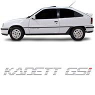 Adesivo Kadett GSI da Porta Dianteira - Kadett GSI 1991 a 1995 Prata