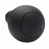Bola (Botão) de Câmbio Doblo 2002 a 2016 Preta