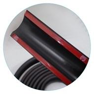 Borrachão Proteção do Parachoque Universal 5 Metros x 35mm com Ponteiras
