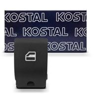 Botão Simples Vidro Elétrico - Gol Parati Saveiro G4 G5 G6 G7 Fox Spacefox - Kostal 3934300