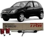 Caixa Direção Mecânica Corsa 1994 a 2012 Celta 2001 a 2015 Prisma 2007 a 2012 Com Terminal - TRW
