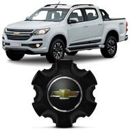 Calota Central da Roda S10 Trailblazer 2017 Preta Original GM