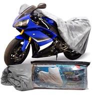 Capa Cobrir Moto 100% Impermeável Forrada Tamanho G CBR 1000 Shadow GSX R1000