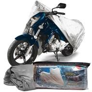 Capa Cobrir Moto 100% Impermeável Forrada Tamanho M CB CBR CRF NX XT XTZ