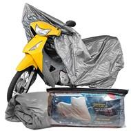 Capa Cobrir Moto 100% Impermeável Forrada Tamanho P Honda Biz CG Titan YBR Fazer