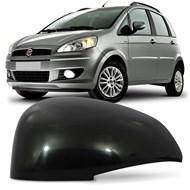 Capa do Retrovisor Fiat Idea 2011 2012 2013 2014 2015 2016 Metagal Lado Esquerdo (Motorista)