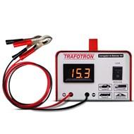 Carregador de Baterias Trafotron 12v 10ah com Voltímetro - Portátil 110v/220v
