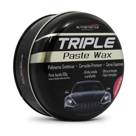 Cera de Carnauba Triple Paste Wax Autoamerica 100g