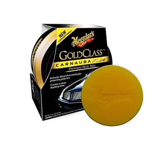 Cera Meguiars Gold Class Premium Paste Wax com Carnauba Plus - 311gr