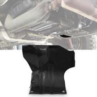 Chapa Protetora do Tucho Motor Fusca Brasília Kombi - Lado Direito - Parte da Frente