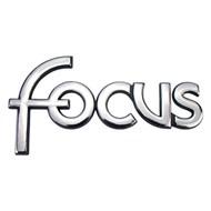 Emblema Focus do Porta Malas Ford Focus 2001 a 2008 Cromado