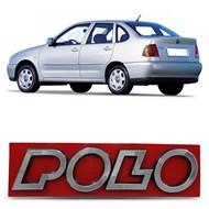 Emblema Polo do Porta Malas - Polo Classic 1997 a 2002 - Cromado