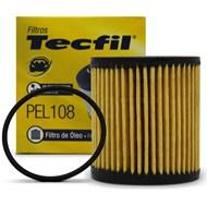 Filtro de Óleo do Motor Tecfil PEL108 - Citroen C3 C4 C5 Peugeot 206 207 208 307 308 408