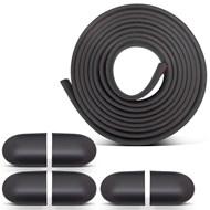 Friso Borrachão Proteção do Parachoque Universal - 5 Metros x 35mm - com Ponteiras