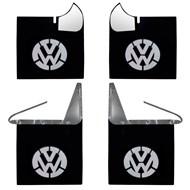 Kit Aparabarros Kombi Com Logo VW 4 Peças