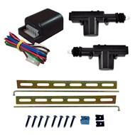 Kit de Trava Elétrica Universal 24V 2 Portas Para Caminhões Carretas