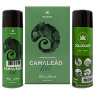 Kit Tinta Spray Colorart Camaleão Azul