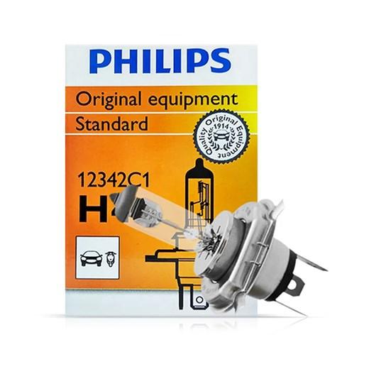 Lâmpada H4 55W Standard Original Philips Cada