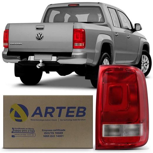 Lanterna Traseira Amarok 2010 a 2019 com Circuito Arteb Lado Direito (Passageiro)