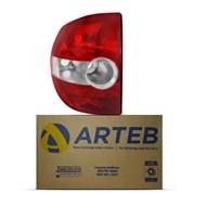 Lanterna Traseira Fox Crossfox 2003 2004 2005 2006 2007 2008 2009 Arteb Lado Esquerdo (Motorista)