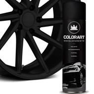 Lata Spray Envelopamento Líquido - Colorart - Preto Fosco 500ml