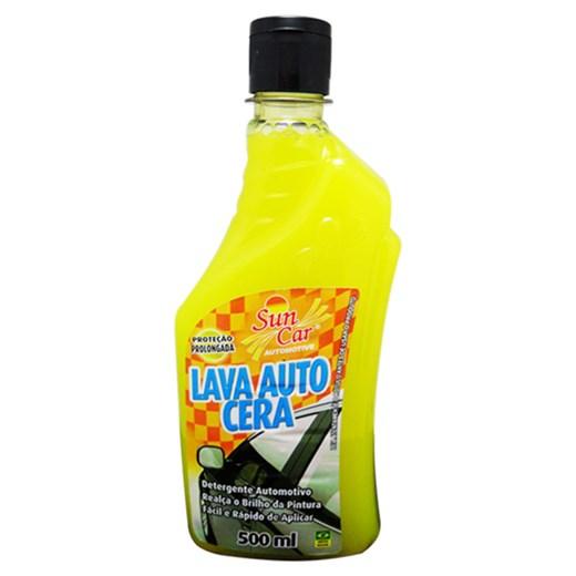 Lava Auto Sun Car Com Cera de Carnaúba 500ml - Desengordura e Realça o Brilho