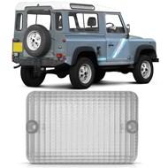 Lente da Lanterna Traseira de Ré Land Rover Defender 90/110/130 1992 a 2000 - Cristal