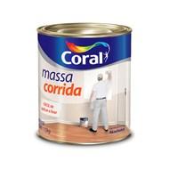 Massa Corrida para Interior - Coral - Branca 1,5kg