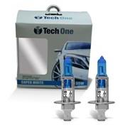Par Lâmpada H1 Super Brancas TechOne Efeito Xenon 8500k