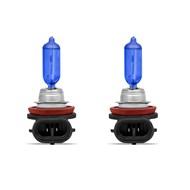 Par Lâmpada H11 Super Brancas TechOne Efeito Xenon 8500k