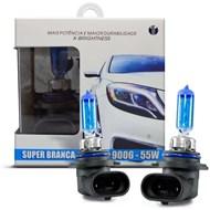Par Lâmpada Super Branca TechOne com Efeito Xenon Encaixe HB4 8500k