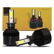 Par Lâmpada Super LED TechOne Code Standard Bivolt - Encaixe H3 6000k