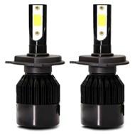 Par Lâmpada Super LED TechOne Code Standard Bivolt - Encaixe H7 6000k