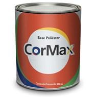 Tinta Automotiva Poliéster CorMax - Ford Prata Enseada - 900ml