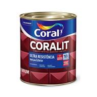 Tinta Esmalte Coralit Alto Brilho Coral - Cinza Escuro - 900ml