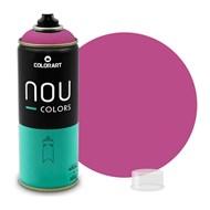 Tinta Spray Colorart Nou Colors para Grafiteiros - 400ml - Açai