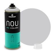 Tinta Spray Colorart Nou Colors para Grafiteiros - 400ml - Cinza