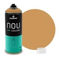 Tinta Spray Colorart Nou Colors para Grafiteiros - 400ml - Ocre