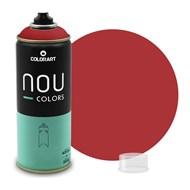 Tinta Spray Colorart Nou Colors para Grafiteiros - 400ml - Vermelho