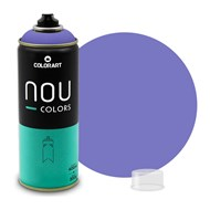 Tinta Spray Colorart Nou Colors para Grafiteiros - 400ml - Violeta